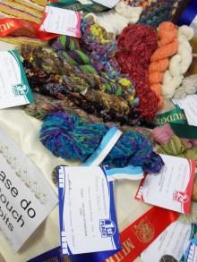 Handspun designer yarn