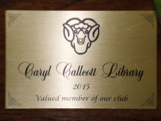 Library dedication