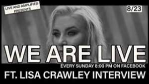 """""""We are Live"""" With Great Independent Music and an Interview with Lisa Crawley! C..."""