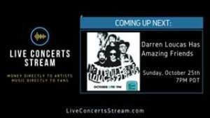 Watch October 25th, 2020 - Darren Loucas (7:30pm PDT)