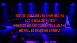 Watch Live at The Bedford 29/10/2020