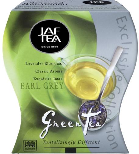 """JAFTEA (Джаф Ти)  зеленый чай """"Седой Граф"""" (Earl Grey) 100g"""