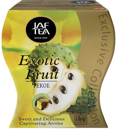 """JAFTEA (Джаф Ти)  черный чай """"Экзотический фрукт"""" (Exotic Fruit) 100g"""