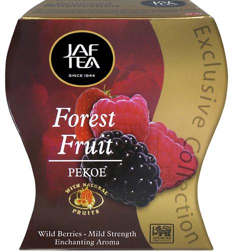 """JAFTEA (Джаф Ти)  черный чай """"Лесная ягода"""" (Forest Fruit) 100g"""