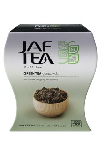 "JAFTEA (Джаф Ти) зеленый чай ""Порох"" (Gun Powder) 100g"