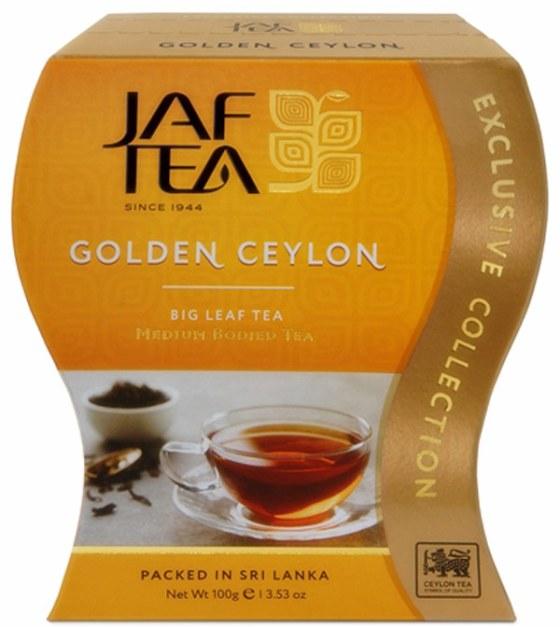 """JAFTEA черный чай """"Золотой Цейлон"""" (Golden Ceylon) 100g"""