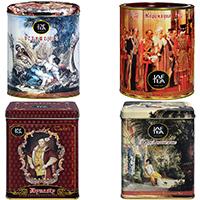JafTea Романтическая коллекция - Жестяная банка