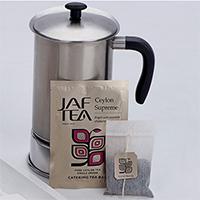 JafTea (Джаф Ти) фильтр пакеты с ярлыком в фольгированом коверте