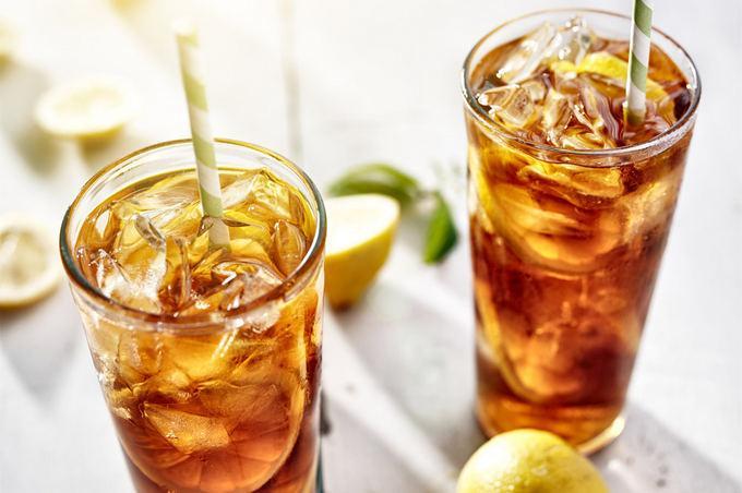Чай охлажденный и со льдом