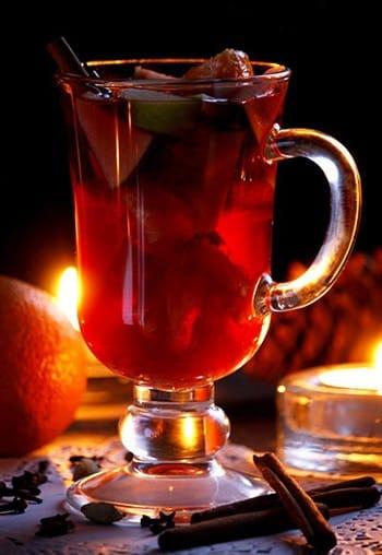 Рецепты с использованием чая. Немецкий чайный пунш