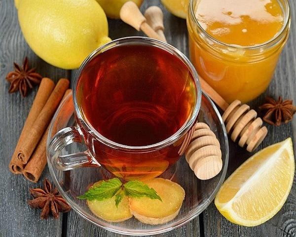 Рецепты с использованием чая. Русский лимонный чай