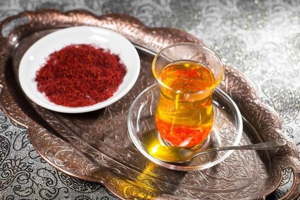 Рецепты с использованием чая. Голландский «Сафраан теш (Шафранный чай)