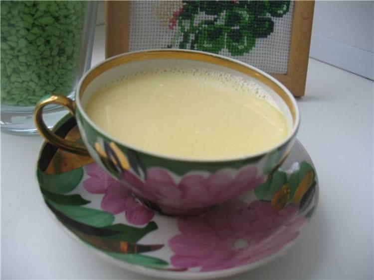 Рецепты с использованием чая. Калмыцкий чай со сливками.