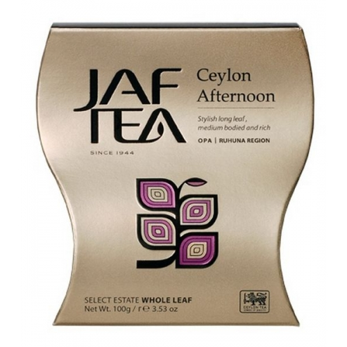 """JAFTEA черный чай """"Цейлон после полудня"""" (Ceylon Afternoon) 100g"""