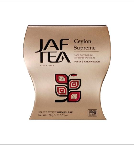 "JAFTEA (Джаф Ти)  черный чай ""Цейлон Суприм"" (Ceylon Supreme) 100g"