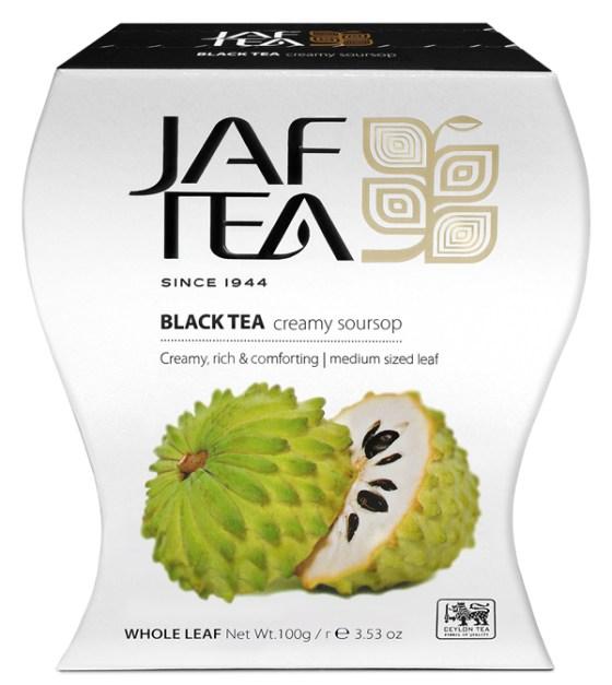 """JAFTEA (Джаф Ти)  черный чай """"Крем саусеп"""" (Creamy Soursop) 100g"""