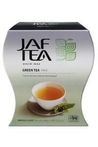 "JAFTEA (Джаф Ти)  зеленый чай ""Мята"" (Green Mint) 100g"