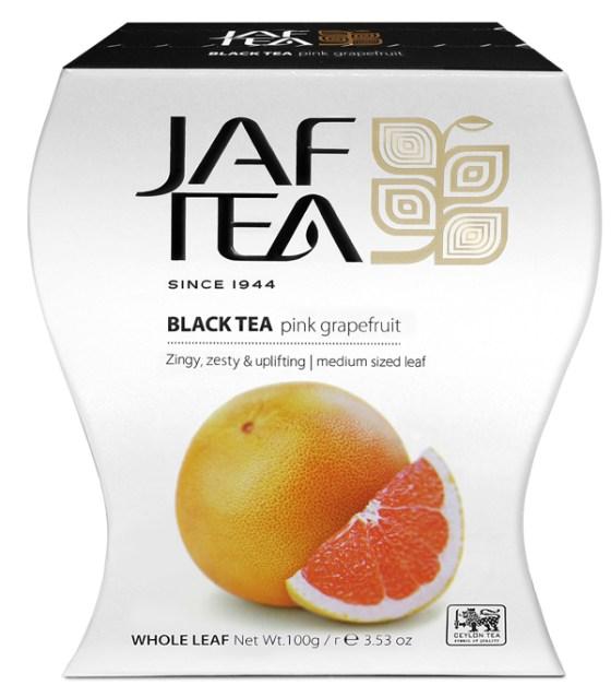 """JAFTEA (Джаф Ти)  черный чай """"Розовый грейпфрут"""" (Pink Grapefruit) 100g"""