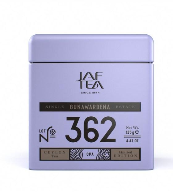 """JAFTEA черный чай №362 """"ГУНАВАРДЕНА"""" (GUNAWARDENA) OPA жестяная банка 70g"""