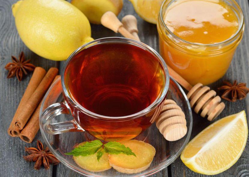 Рецепты с использованием чая. Горячий пряно-медовый чай Цейлона.