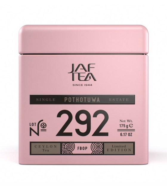"""JAFTEA черный чай №292 """"ПОТОТУВА"""" (Pothotuwa) FBOP жестяная банка 175g"""