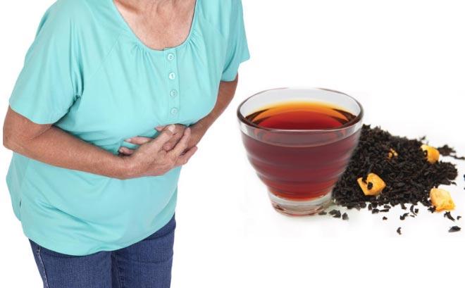 Чай при расстройстве желудка.