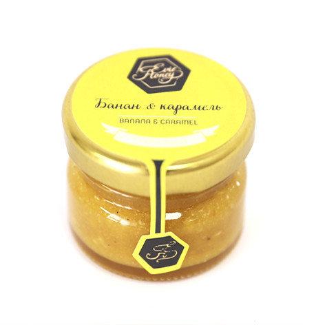 """Evie Honey Крем-мёд """"Банан и карамель"""" 30гр."""