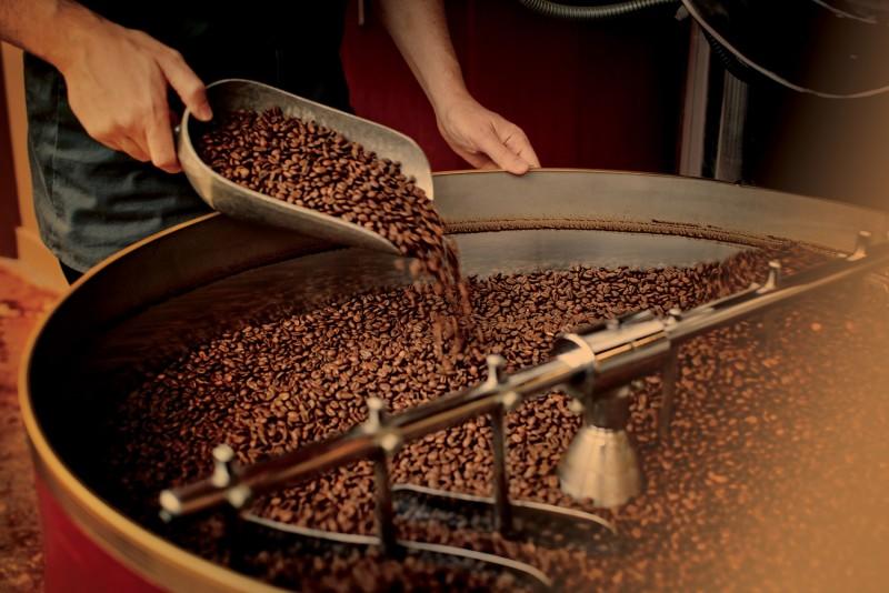 Приготовление кофе. Обжаривание кофейных зерен.