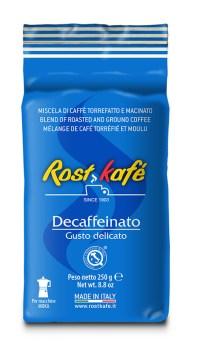 Roskafe кофе молотый Decaffeinato, пакет 250г