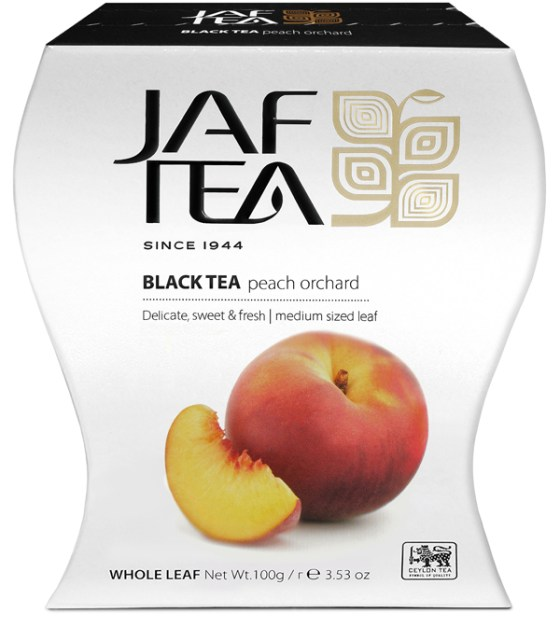 "JAFTEA (Джаф Ти) черный чай ""Персиковый сад"" (Peach Orchard) 100g"
