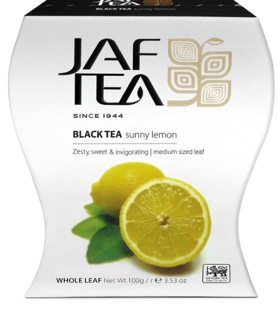 """JAFTEA (Джаф Ти) черный чай """"Солнечный лимон"""" (Sunny Lemon) 100g"""