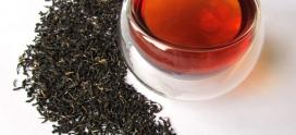 Черный чай тормозит старение.
