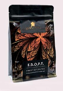 KOLONIST черный чай FBOPF 100g