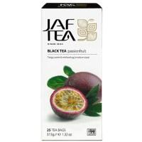 """JAFTEA (Джаф Ти) черный чай """"Плод страсти"""" (Passion Fruit) 25 пакетиков по 1.5гр"""