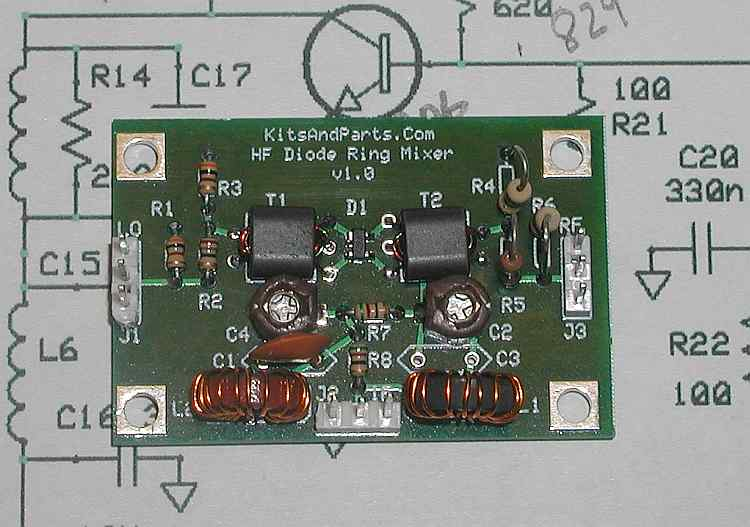Simple Bpsk Modulator Diode Ring Balanced Circuit