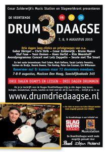 Flyer Drum3Daagse 2015