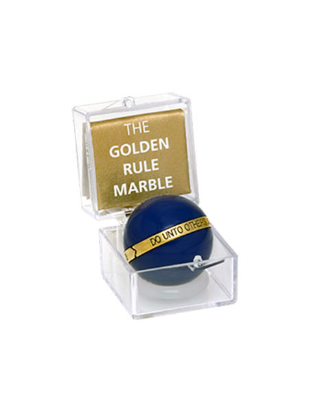 The Golden Rule Marble