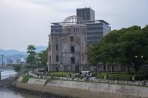 原爆ドーム遠景