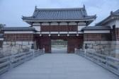 広島城入り口
