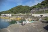 双海の漁港
