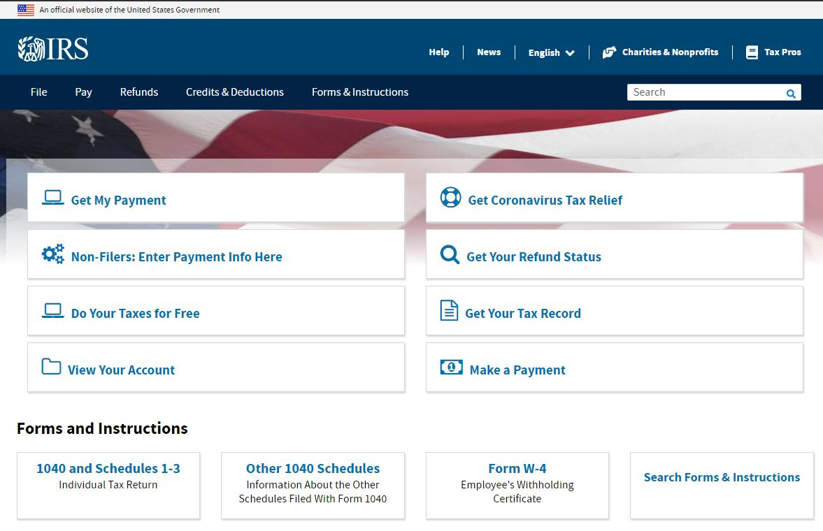 "Stimulus Check for SSI Recipients and other IRS ""Non-Filers"""