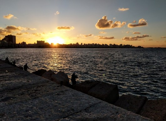 sunset alexandria