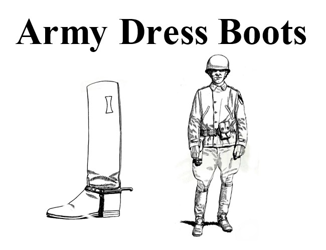 World War Two Army Boots