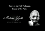 Mahandas Gandhi on Peace and Love