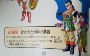 dragon quest 3 fighter illustration