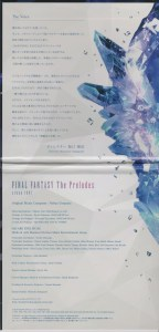 Final Fantasy The Preludes Liner Notes
