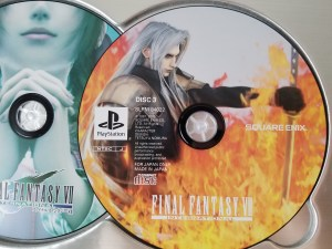 Final Fantasy VII International Advent Pieces Limited disc 3