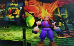 Final Fantasy VII International cloud without a mouth