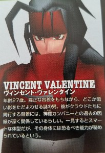 Final Fantasy VII International Vincent Valentine