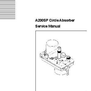Siemens Kion Multigas 2000 Service manual